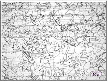 Microstructure - Mill Annealed B-3 Sheet